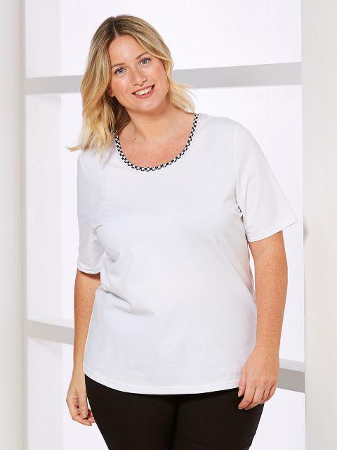 Shirt von Just White (00039352)