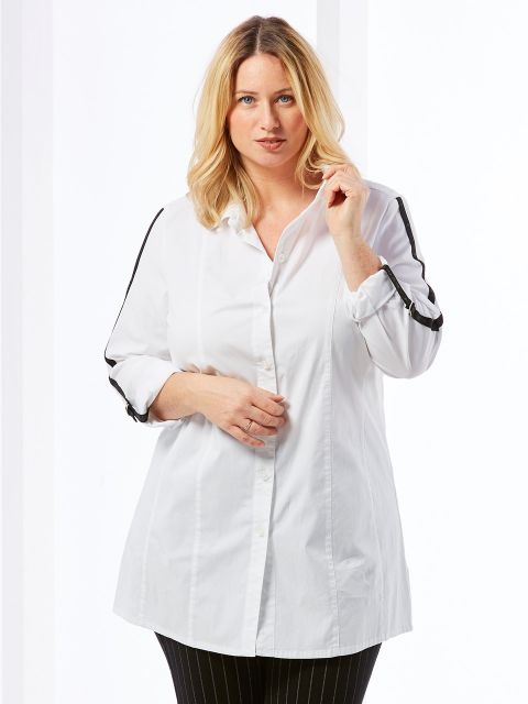 Long-Bluse von KjBrand (00039582)