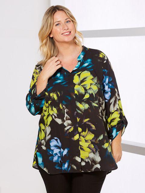Tunika-Bluse von Doris Streich (00039867)