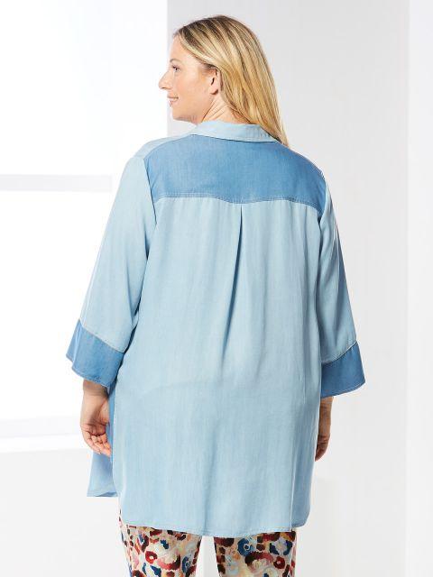Jeansbluse von Verpass (00040086)
