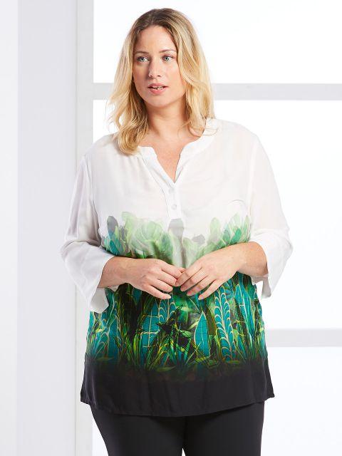 Tunika-Bluse von KjBrand (00040403)