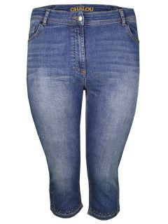 Jeans-Capri-Hose von Chalou (00033784)