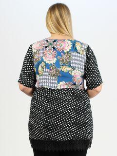Tunika-Bluse von Chalou (00039023)