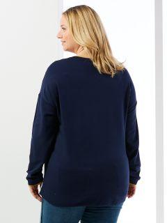 Sweat-Shirt langarm von Via Appia Due (00039648)