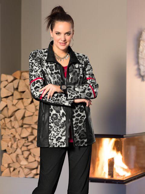 jacke von mona lisa 00030859 jetzt online bestellen bei mode 58. Black Bedroom Furniture Sets. Home Design Ideas