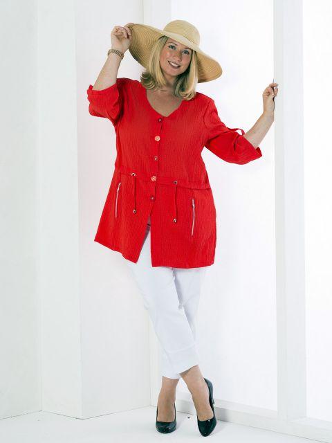 blusenjacke von mona lisa 00035184 jetzt online bestellen bei mode 58. Black Bedroom Furniture Sets. Home Design Ideas