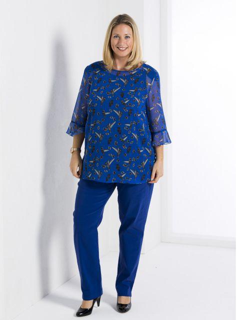 tunika bluse von mona lisa 00035203 jetzt online bestellen bei mode 58. Black Bedroom Furniture Sets. Home Design Ideas